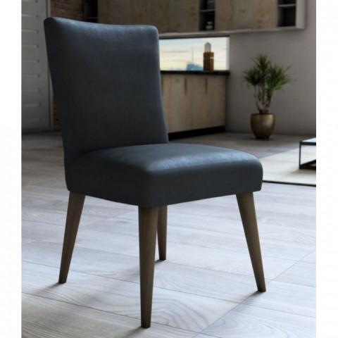 Capa para Cadeira Veludo 45x60 Cm Aço