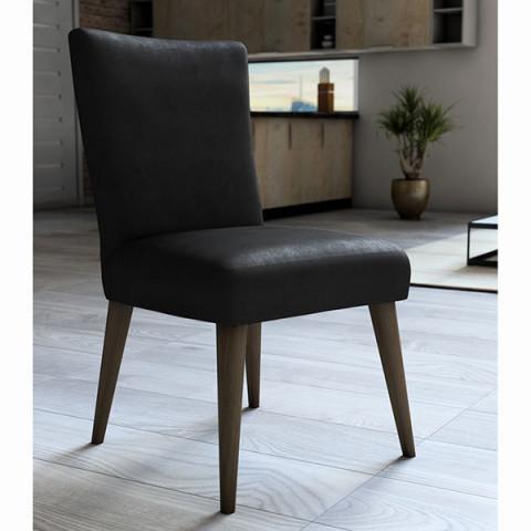 Capa para Cadeira Veludo 45x60 Cm Preto