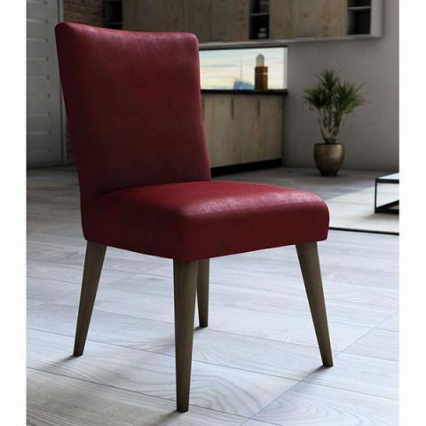 Capa para Cadeira Veludo 45x60 Cm Vermelho