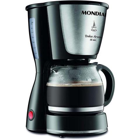 Cafeteira Elétrica 127V Mondial Preto