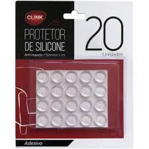 Protetor Anti-Impacto silicone circular com 20 Peças