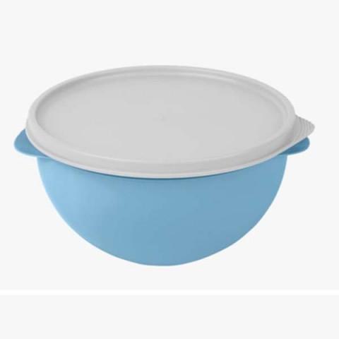 Pote Redondo Hermético Biovita 4.75 Lt Azul