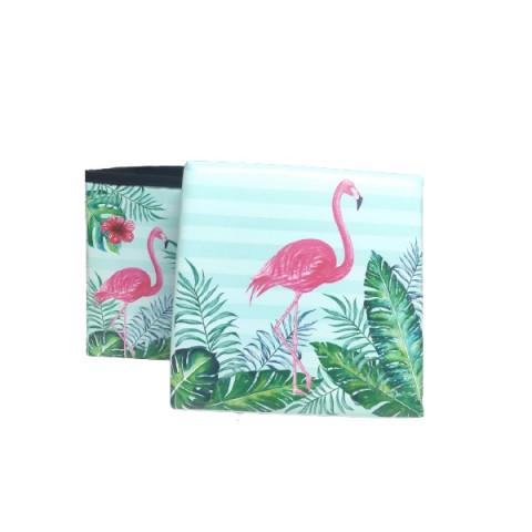 Puff Box Mini 30x30x30 Cm Flamingo