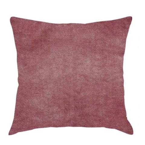 Almofada de Veludo Marmorizado 43x43 Cm Vermelho