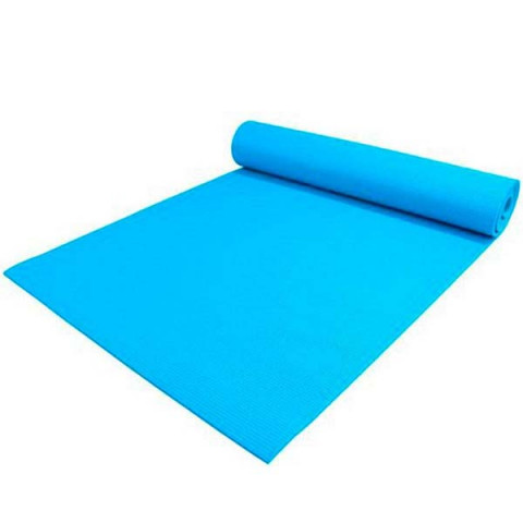 Tapete de Yoga 3mm 61x173 Cm Azul