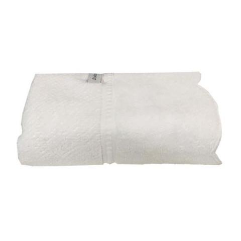 Toalha de Lavabo Broderie 30x50 Cm Branco