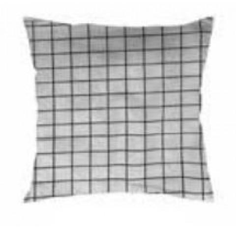 Almofada Havana 45x45 Cm Quadrados Branco