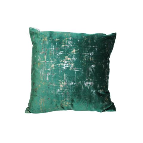 Almofada Velvet 43x43 Cm Verde Escuro