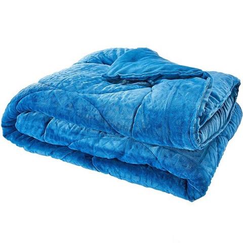 Edredom King Blend Elegance Gabogó Azul