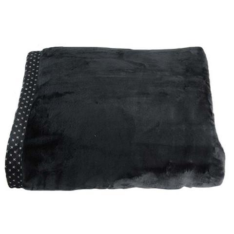 Cobertor Casal Blanket Preto