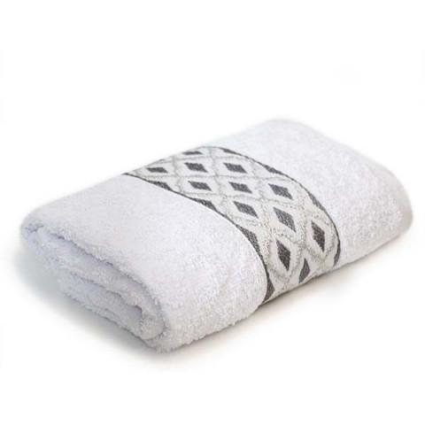 Toalha de Banho Turquia 70x140 Cm Branco