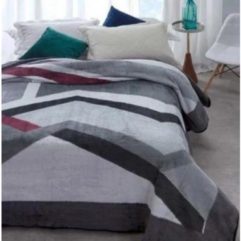 Cobertor Casal Kyor Plus Amalfi Cinza