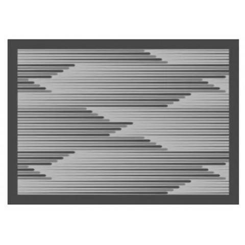 Tapete Para Cozinha 50x70 Cm Concentric