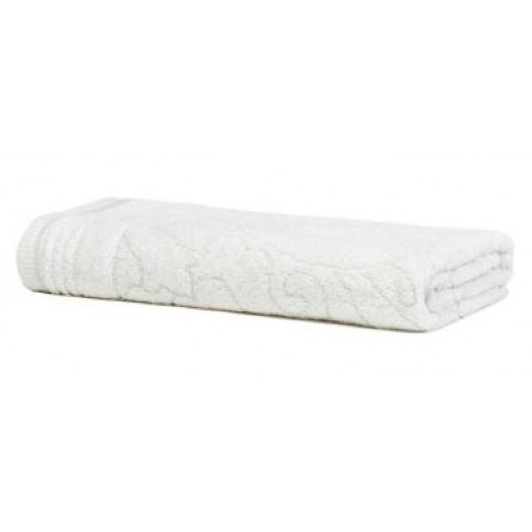 Toalha de Banho Jacquard Le Bain Caiena 70x140 Cm Branco