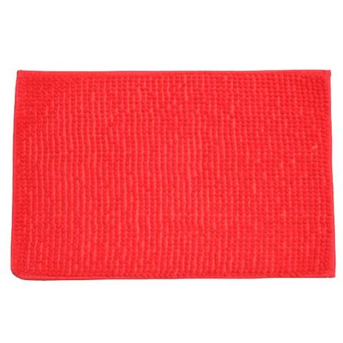 Tapete de Banheiro Vermelho Curto 40x60
