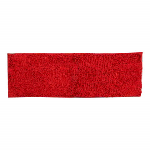 Tapete Sintético 40x120 Cm Vermelho