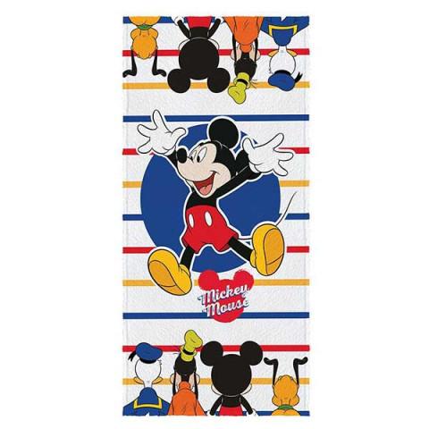 Toalha De Praia Aveludada Estampado 70x140 Cm Mickey