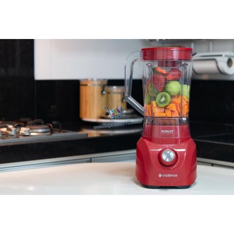 Liquidificador Robust 127V 1000W Vermelho