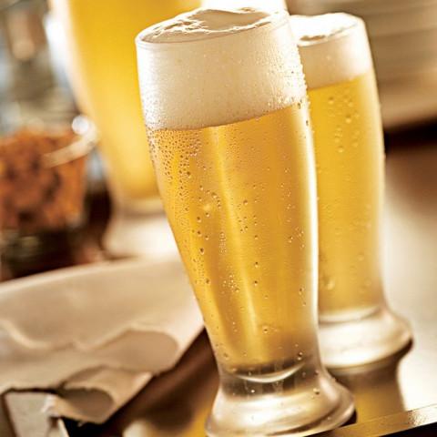 Jogo De Copos De Vidro Para Cerveja Munich 300Ml