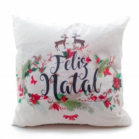 Capa Almofada Decorativas 40X40 Cm Natal