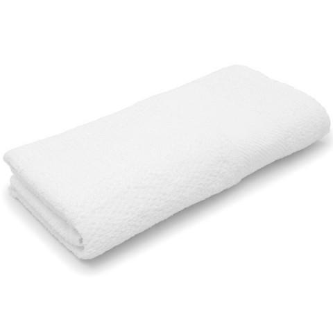 Toalha de Rosto Karsten Fio Cardado Empire 48x70 Cm Branco