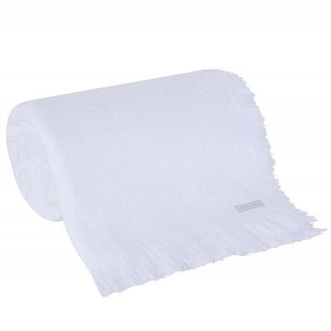 Colcha de Solteiro Tear In Design Branco