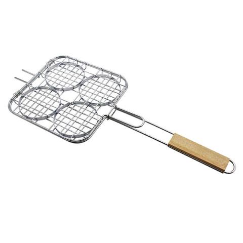 Grelha Easy Grill Para Hambúrguer