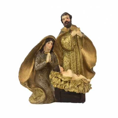 Presépio Natal Sagrada Família 12X6X12 Cm