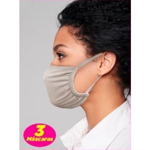 Mascara De Tecido Kit 3pcs