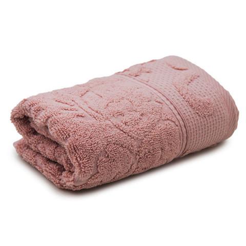 Toalha de Banho Passione 80x150 Cm Veludo Rosa