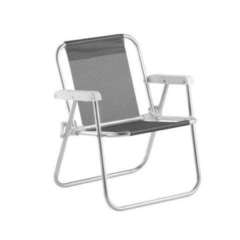 Cadeira Praia Varanda Infantil Preto