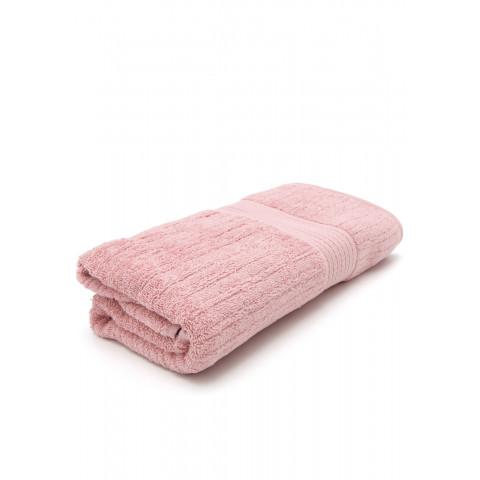 Toalha de Banho Buddemeyer Fio Penteado Canelado Rosa