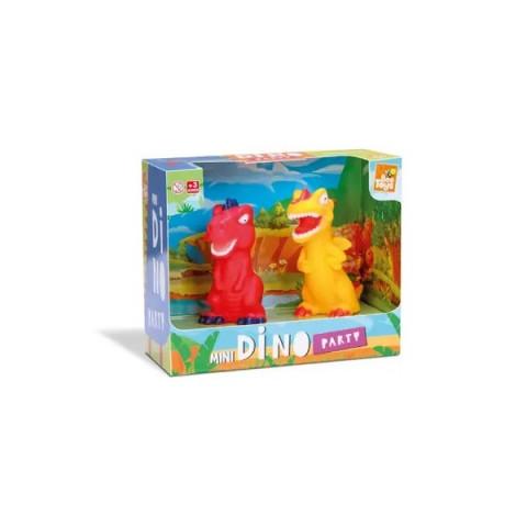 Brinquedo Mini Dinossauro Dupla