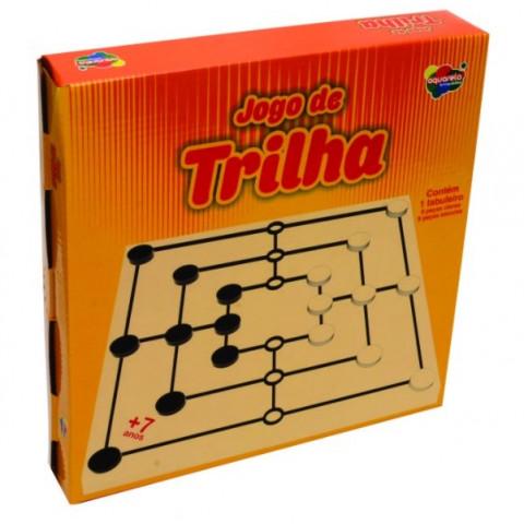 Brinquedo Jogo Trilha 56 Pcs