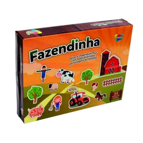 Brinquedo Jogo Fazendinha 34 Pcs