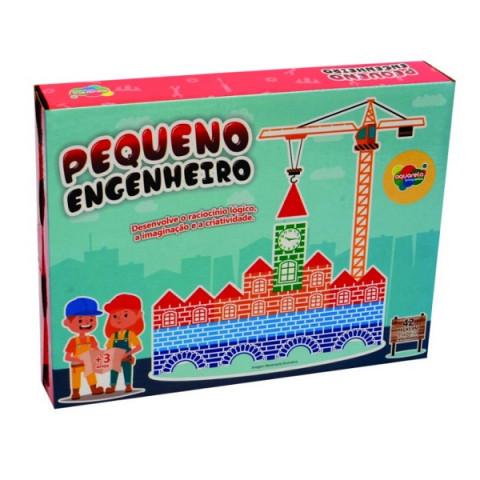Brinquedo Jogo Pequeno Engenheiro 42 Pcs