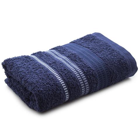Toalha De Banho Spencer 67x135 - Azul Marinho - Karsten