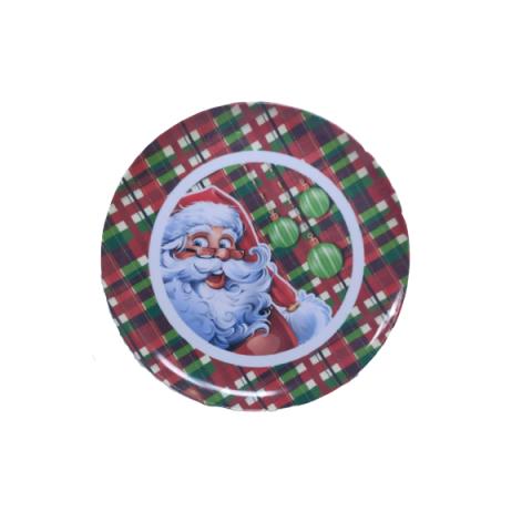 Prato Melamina Natal 27,5 Cm