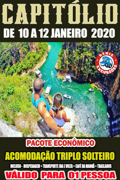 CAPITOLIO 10 Á 12 JANEIRO -APTO TRIPLO - ECONOMICO - valor por pessoa