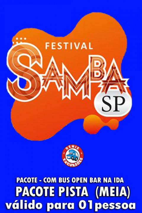 09/05  FESTIVAL SAMBA SP  - PISTA  (MEIA ENTRADA - BUS OPEN) UNISSEX