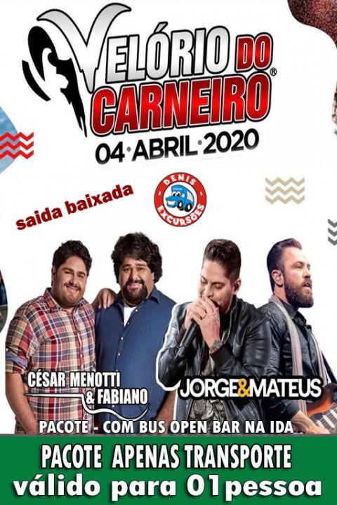 04/04 VELORIO DO CARNEIRO -APENAS TRANSPORTE - SAIDA -BAIXADA-(BUS OPEN)