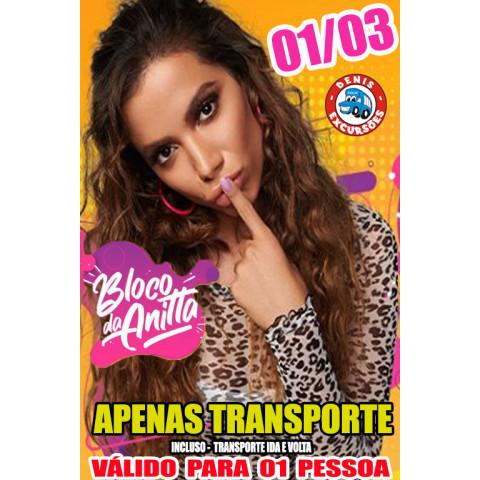 01/03 -TRANSPORTE BLOQUINHOS  -ANITTA - CARNAVAL 2020- APENAS TRANSPORTE