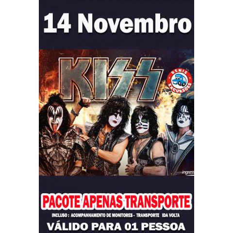 14/11 - KISS  EM SP  -APENAS TRANSPORTE