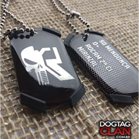 Dog Tag Rocan Policia Militar