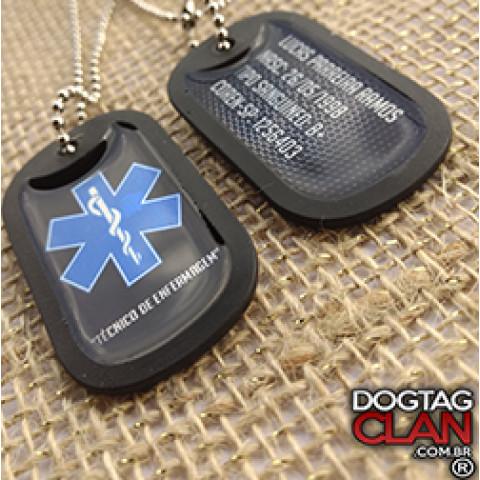 Dog Tag Técnico Enfermagem