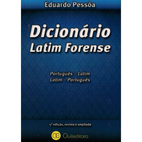 Dicionário Latim Forense