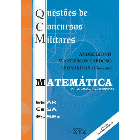 QCM - Questões de Concursos Militares (EEAR, EsSA, EsSEx): Matemática