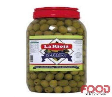 Azeitona Verde sem caroço - LA RIOJA- Balde 2kg