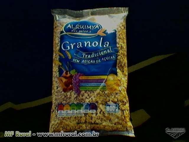 Granola tradicional - Pacote 800gr