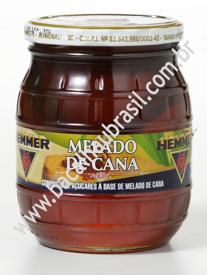 Melado de Cana - Marca Hemmer - Vidro 750ml